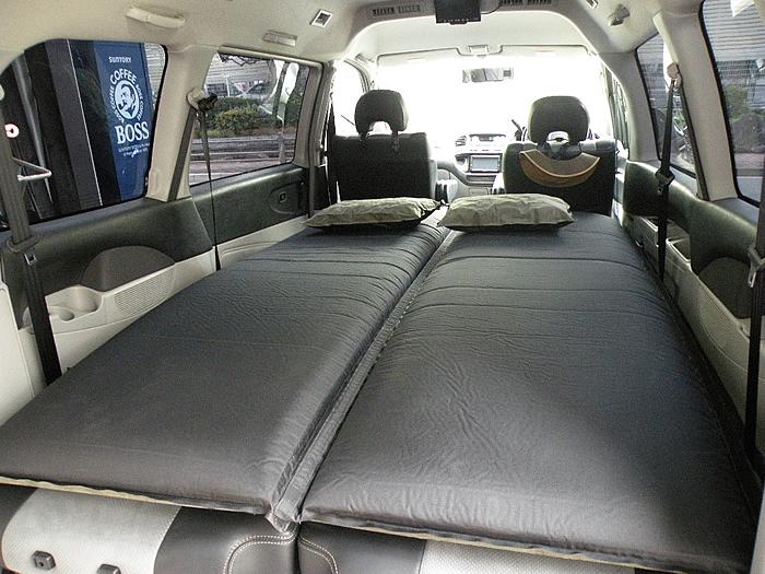 安眠できる 車中泊専用マット