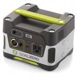 車中泊のポータブル電源【Goal Zero Yeti 150 Solar Generator】