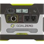 車中泊のポータブル電源【Goal Zero Yeti 400 Solar Generator】