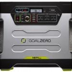 車中泊のポータブル電源【Goal Zero Yeti 1250 R2 Solar Generator】