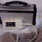 suaokiポータブル電源 S601 20000mAh/220Whで、電気毛布を一晩使った結果報告